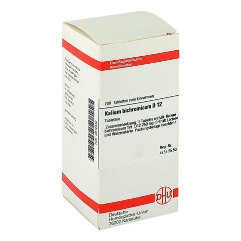 KALIUM BICHROMICUM D 12 Tabletten 200 Stück N2