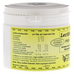 LECITHIN GRANULAT 200 Gramm - Linke Seite