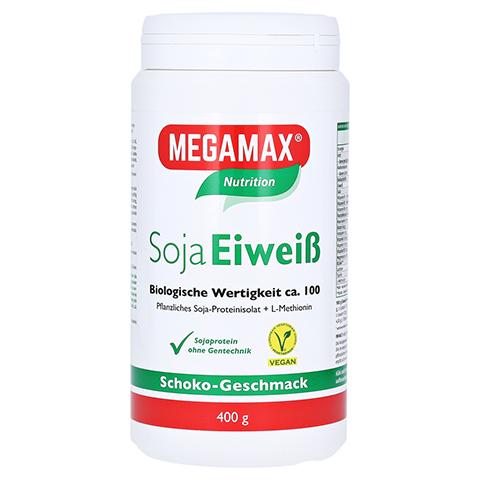 Megamax Soja Eiweiß Schoko Pulver 400 Gramm