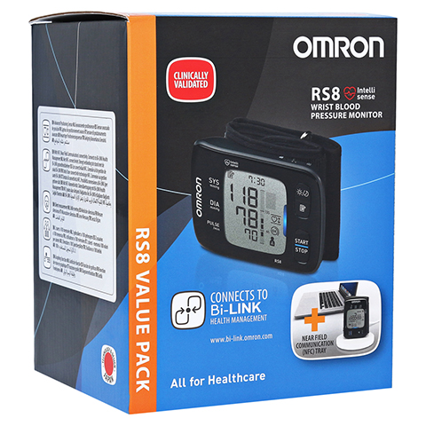 OMRON RS8 Handgelenk BMG m.NFC Auslesemodul 1 St�ck