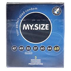 MYSIZE 69 Kondome 3 Stück - Vorderseite