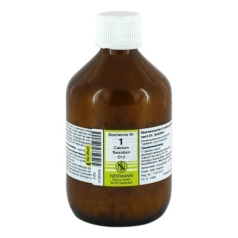 BIOCHEMIE 1 Calcium fluoratum D 12 Tabletten 1000 Stück