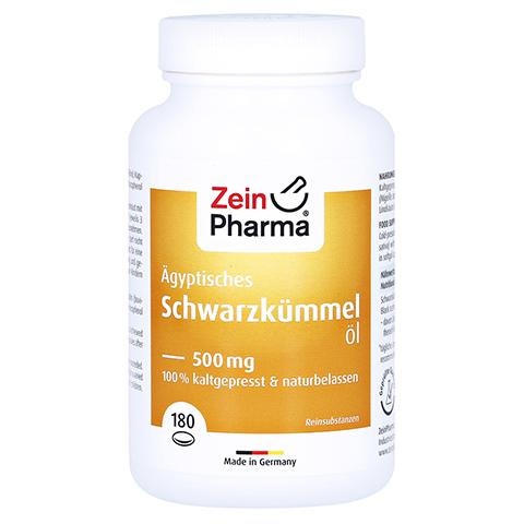 �GYPTISCHES Schwarzk�mmel�l Kapseln 500 mg 180 St�ck