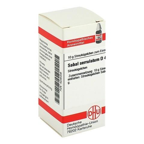 SABAL SERRULATUM D 4 Globuli 10 Gramm N1