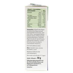 TAXOFIT Magnesium+Kalium+B12 Direkt-Granulat 20 Stück - Linke Seite