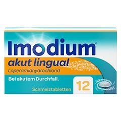 Imodium akut lingual 12 Stück N1