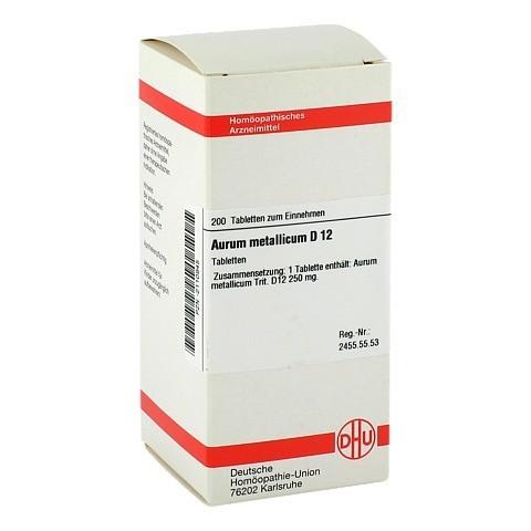 AURUM METALLICUM D 12 Tabletten 200 Stück N2
