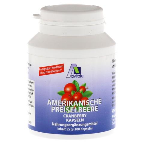 PREISELBEERE amerikanisch 400 mg Kapseln 100 Stück
