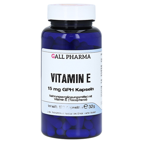 VITAMIN E 15 mg GPH Kapseln 120 St�ck