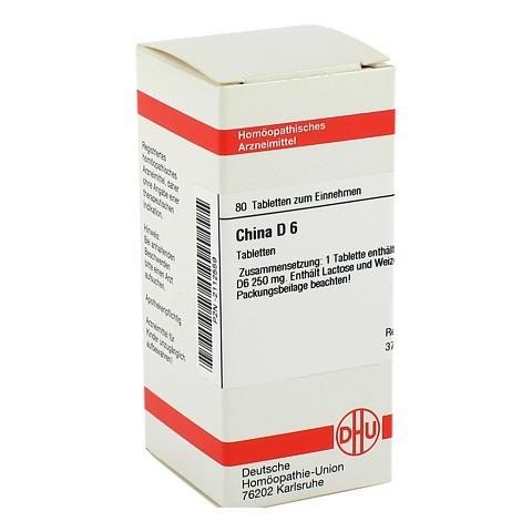 CHINA D 6 Tabletten 80 Stück N1