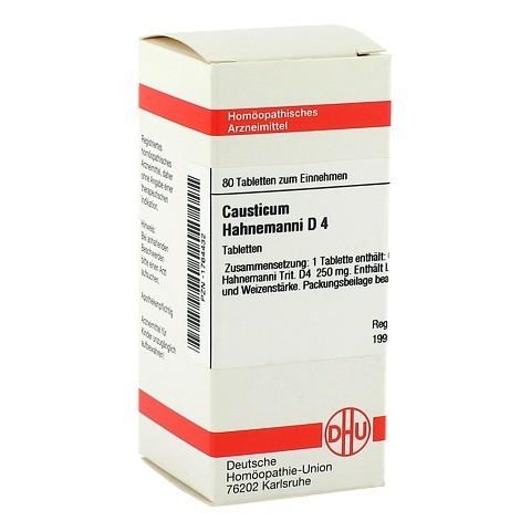 CAUSTICUM HAHNEMANNI D 4 Tabletten 80 Stück N1
