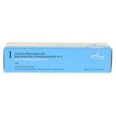 BIOCHEMIE DHU 1 Calcium fluoratum D 4 Gel 50 Gramm N1 - Oberseite