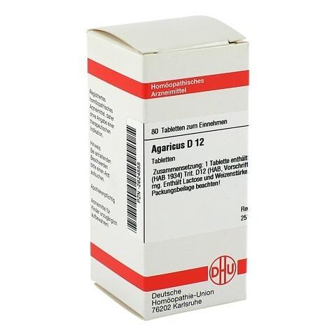 AGARICUS D 12 Tabletten 80 Stück N1