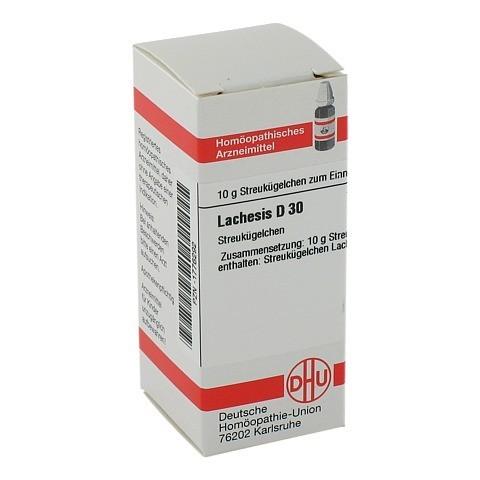 LACHESIS D 30 Globuli 10 Gramm N1