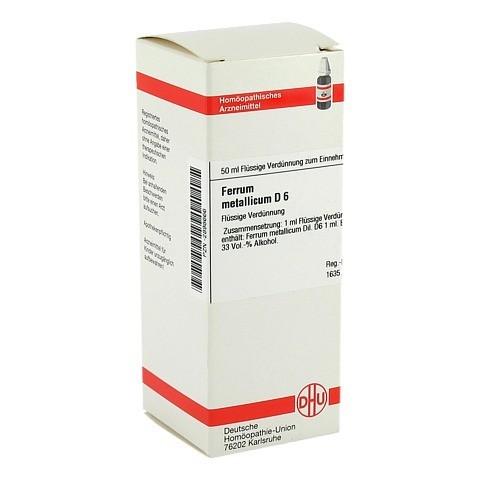 FERRUM METALLICUM D 6 Dilution 50 Milliliter N1