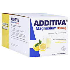 ADDITIVA Magnesium 300 mg N Pulver 60 St�ck