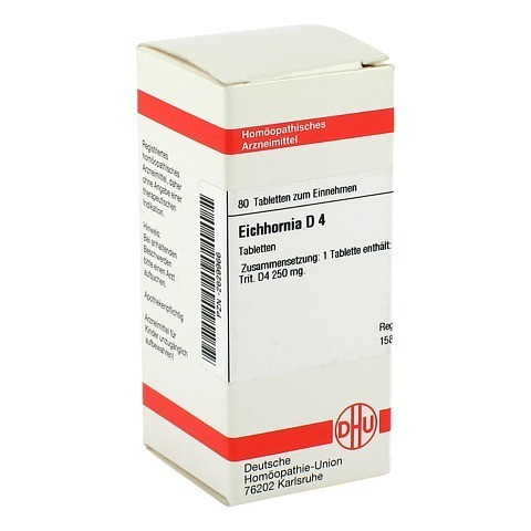 EICHHORNIA D 4 Tabletten 80 Stück N1