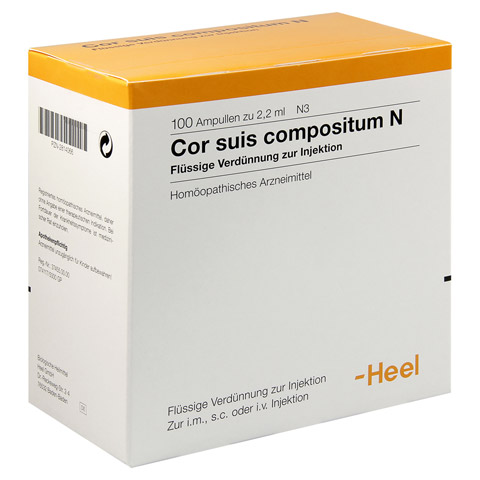 COR SUIS Compositum N Ampullen 100 Stück N3