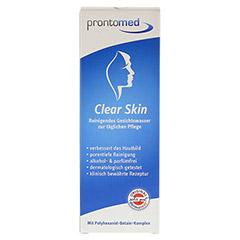PRONTOMED Clear-Skin reinigendes Gesichtswasser 200 Milliliter - Vorderseite