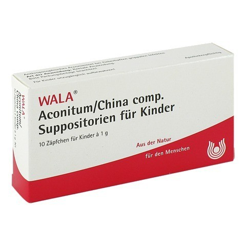 ACONITUM/CHINA comp.Kindersuppositorien 10x1 Gramm N1