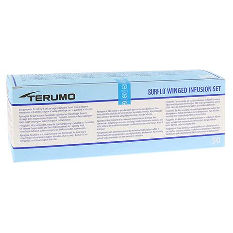 SURFLO Perfusionsbesteck 22 G 30 cm schwarz 50 St�ck