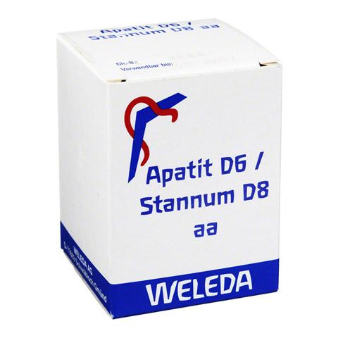 APATIT D 6/Stannum D 8 aa Trituration 50 Gramm N2