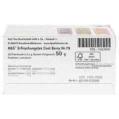 H&S Cool Berry Filterbeutel 20 Stück - Unterseite
