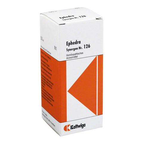 SYNERGON KOMPLEX 126 Ephedra Tropfen 50 Milliliter N1