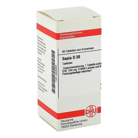 SEPIA D 30 Tabletten 80 Stück