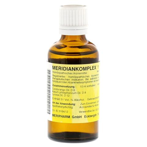 MERIDIANKOMPLEX 1 Tropfen zum Einnehmen 50 Milliliter N1