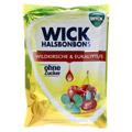 WICK Wildkirsche & Eukalyptus Bonbons o.Zucker 72 Gramm