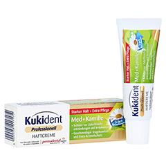KUKIDENT Haftcreme Med + Kamille 40 Gramm