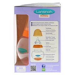 LANSINOH mOmma 3-Stufen Trinkset 250 ml 1 Stück - Rechte Seite