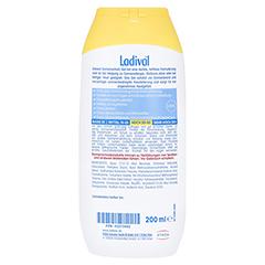 LADIVAL allergische Haut Gel LSF 30 200 Milliliter - Rückseite