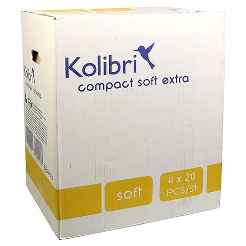 KOLIBRI compact soft Vorlagen anatomisch extra 4x20 Stück
