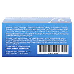 WOBE-MUCOS magensaftresistente Tabletten 120 Stück - Unterseite
