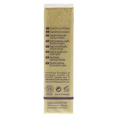 CATTIER Heilerde Seife normale bis Mischhaut 150 Gramm - Linke Seite