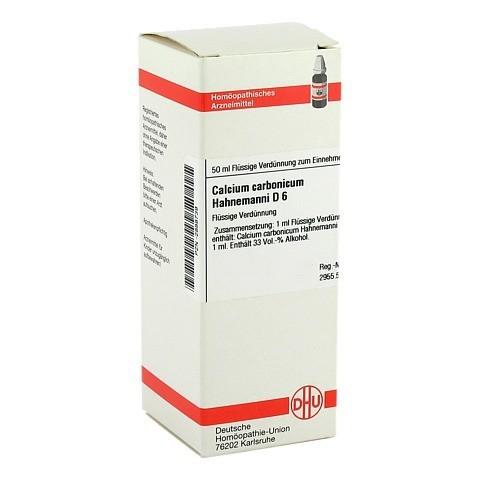 CALCIUM CARBONICUM Hahnemanni D 6 Dilution 50 Milliliter N1