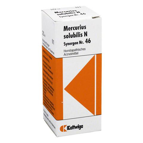 SYNERGON KOMPLEX 46 Mercurius solubilis N Tropfen 20 Milliliter