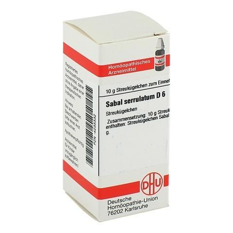 SABAL SERRULATUM D 6 Globuli 10 Gramm N1