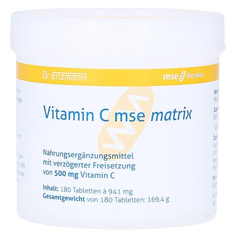 VITAMIN C MSE Matrix Tabletten 180 Stück