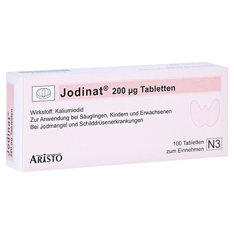 Jodinat 200�g 100 St�ck N3