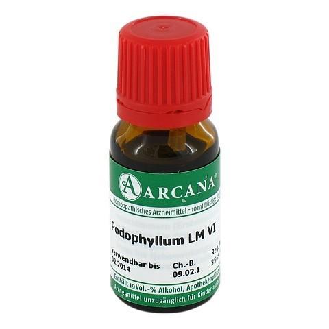 PODOPHYLLUM Arcana LM 6 Dilution 10 Milliliter N1