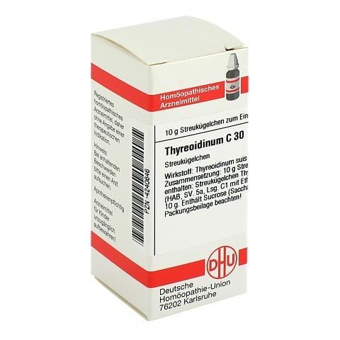 THYREOIDINUM C 30 Globuli 10 Gramm N1