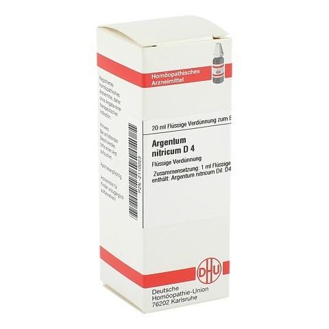 ARGENTUM NITRICUM D 4 Dilution 20 Milliliter N1