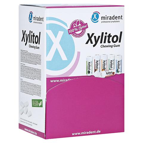 MIRADENT Zahnpflegekaugummi Xylitol Sch�ttv.sort. 200 St�ck
