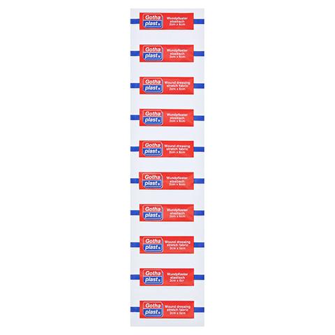 GOTHAPLAST Strips elast.2x6 cm 1x10 Stück
