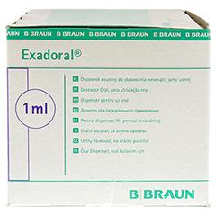 EXADORAL B.Braun orale Spritze 1 ml 100 Stück - Linke Seite