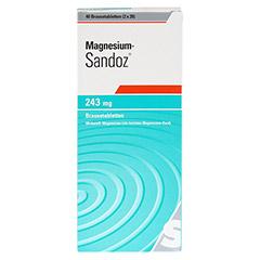 MAGNESIUM SANDOZ 243 mg Brausetabletten 40 Stück - Vorderseite