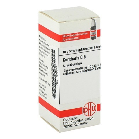 CANTHARIS C 6 Globuli 10 Gramm N1